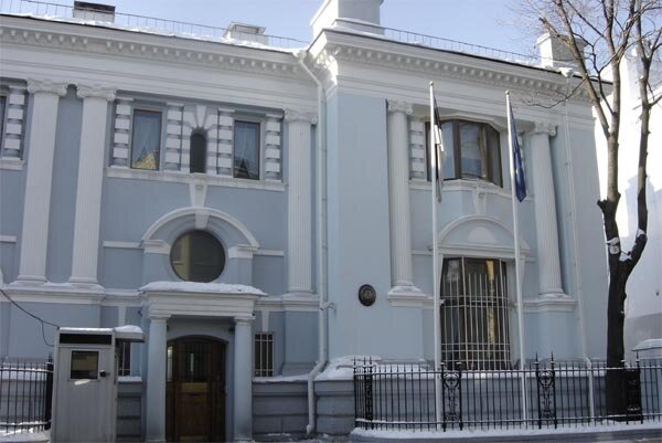 Estonian Embassy in Moscow